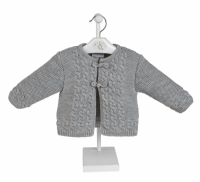 A1967G Boys Fancy knitted Jacket & Shorts Set